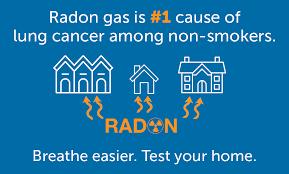 radon gas test lorain county ohio